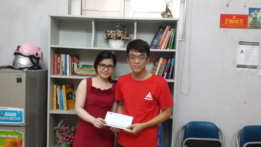 Quang Anh  - 610 điểm TOEIC dành cho lớp trưởng chăm chỉ