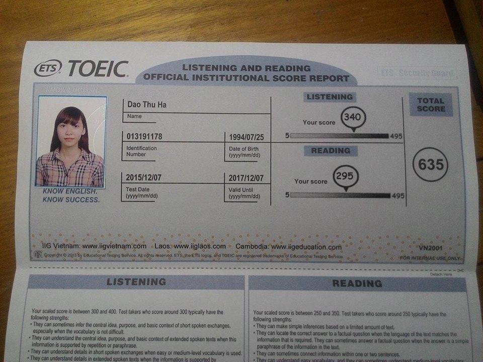 Làm sao đạt  được 600 điểm Toeic trong vòng 4 tháng?
