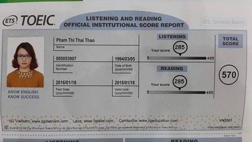 Chỉ trong vòng 4 tháng, từ mù tịt tiếng Anh mình đã thi được 500 điểm Toeic  như thế nào?