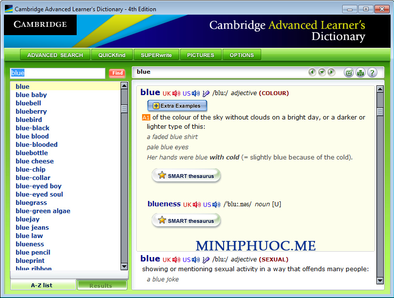 phan-mem-cambridge-dictionary