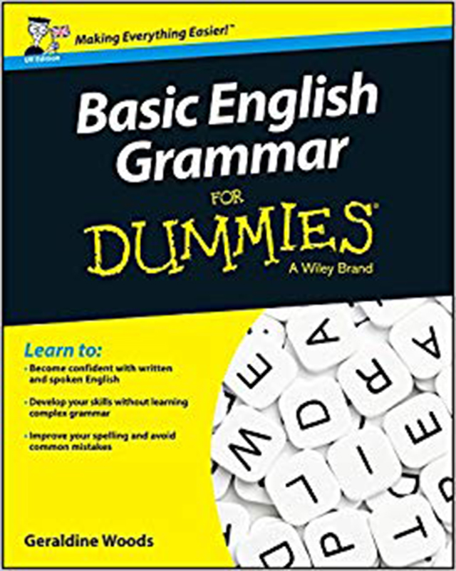 basic english grammar for dummies