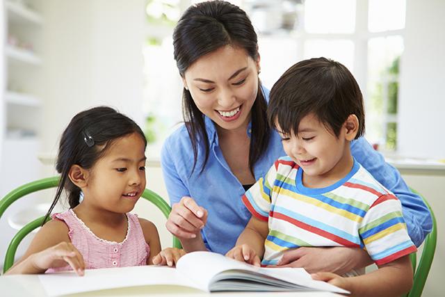 kiên trì dạy trẻ