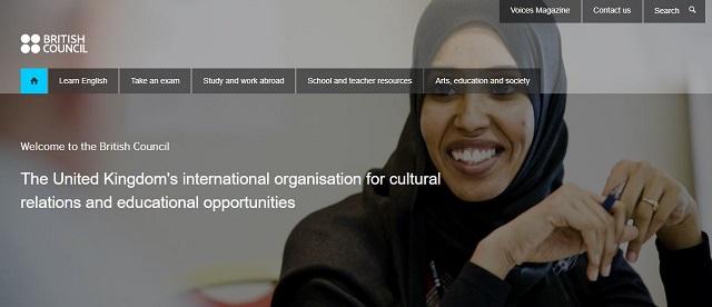 website british council