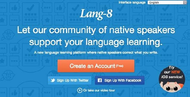 website lang-8