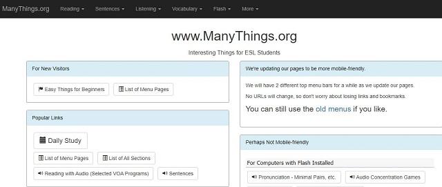 website-manythings