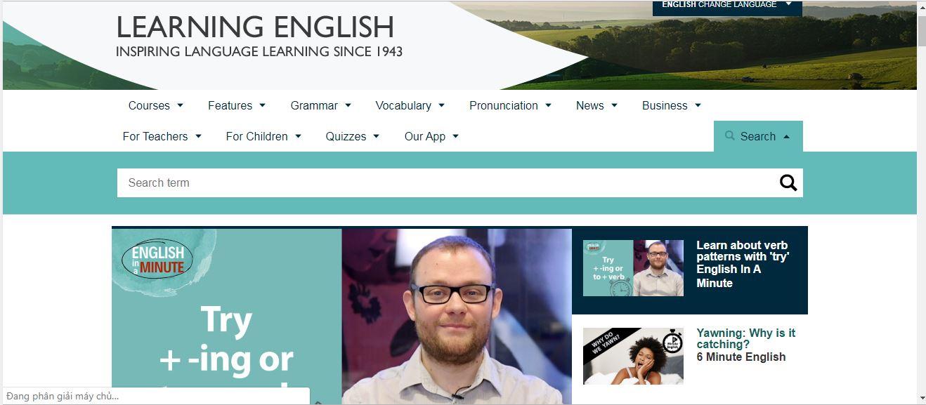 bbc learning english