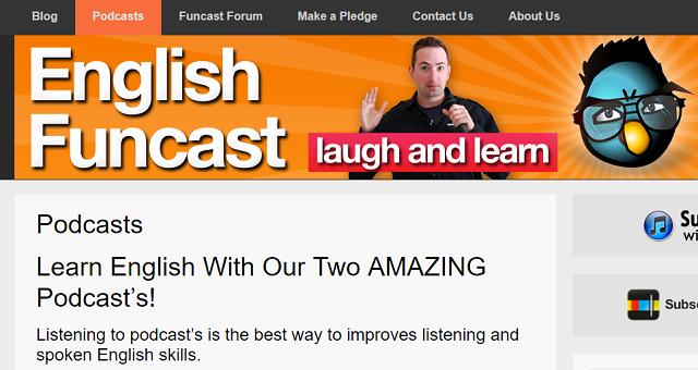 the english funcast
