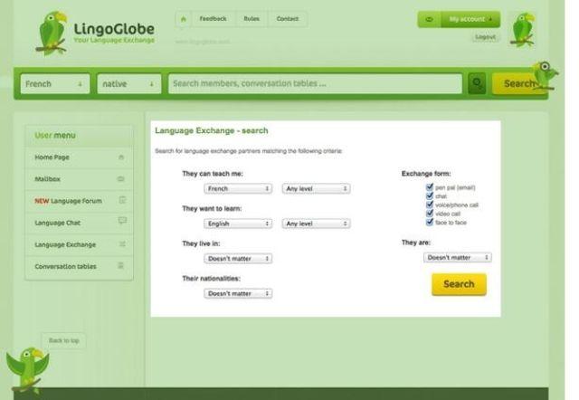 lingoglobe