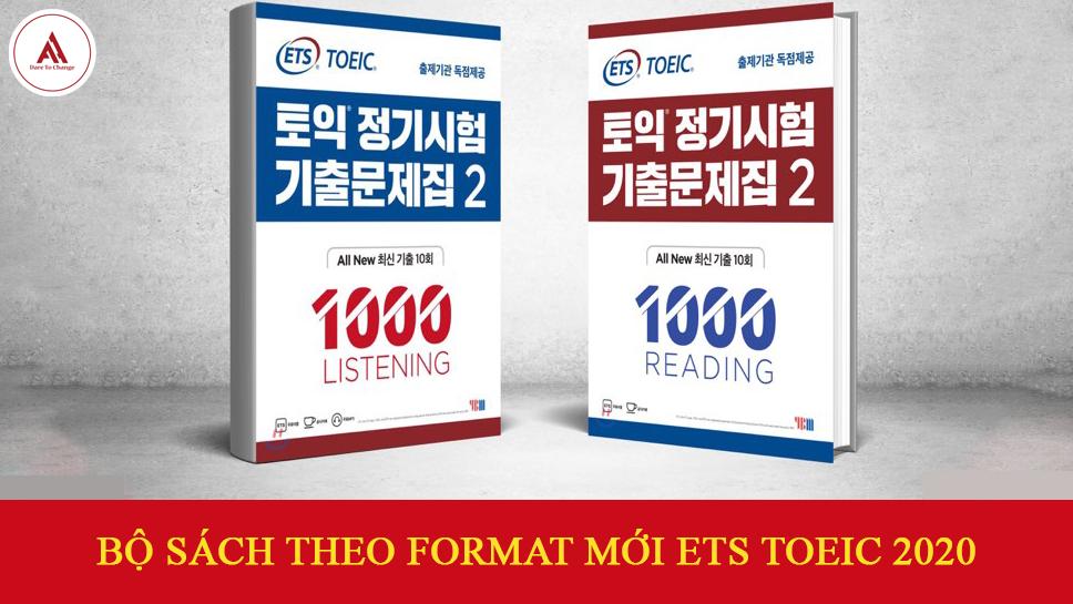 BỘ SÁCH LUYỆN THI TOEIC THEO FORMAT MỚI ETS TOEIC 2020