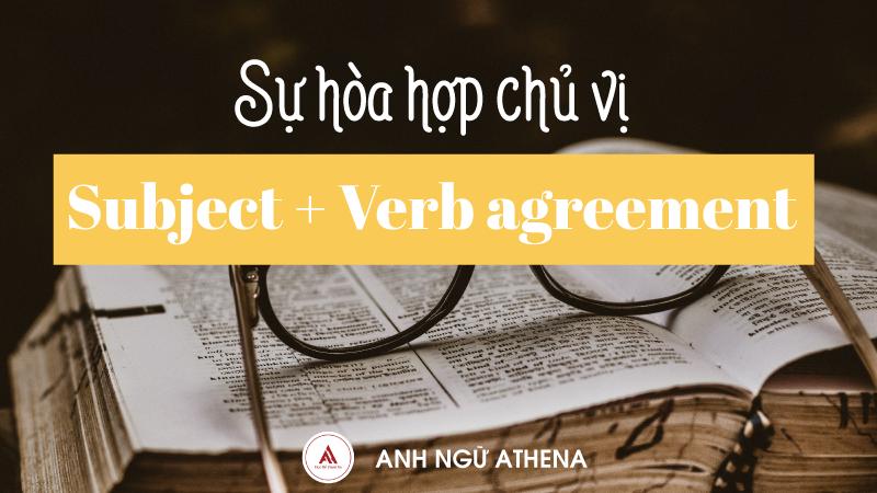 Ngữ pháp tiếng Anh: Hòa hợp chủ vị - Subject + Verb Agreement