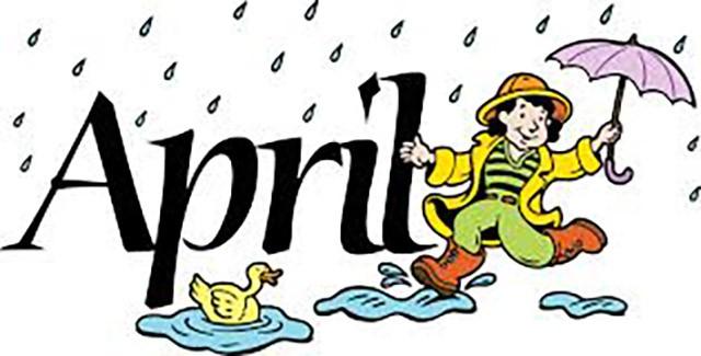 tháng 4 trong tiếng anh