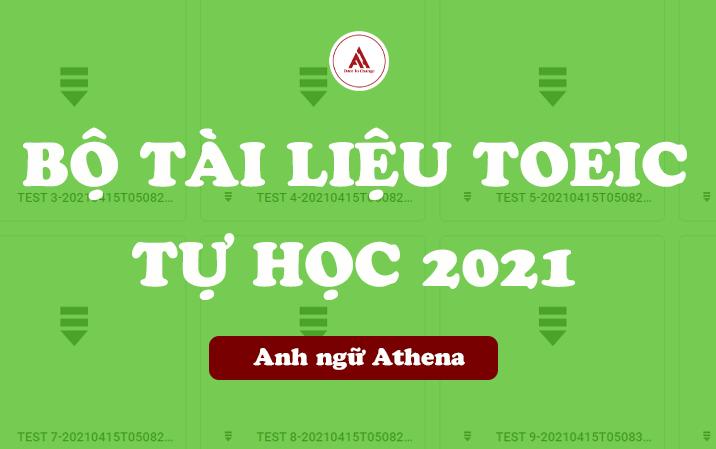 Bộ tài liệu tự học TOEIC 0-900+ 2021