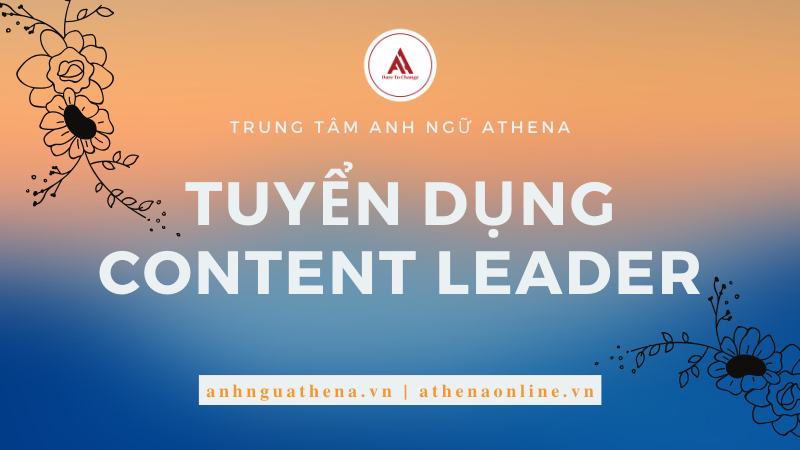 tuyển dụng content leader
